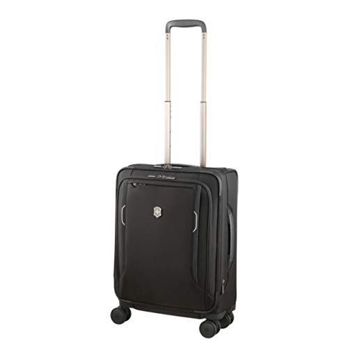 Victorinox Werks Traveler 6.0 Softside Spinner International Carry-On Suitcase, 21-Inch, Black