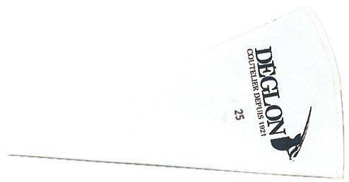 Deglon 9910025-V-tas van nylon, bedrukt, 25 cm