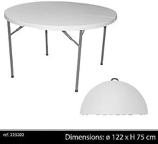Amazon.fr : table jardin ronde pliante