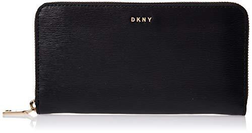 DKNY Portafoglio Bryant in pelle nera