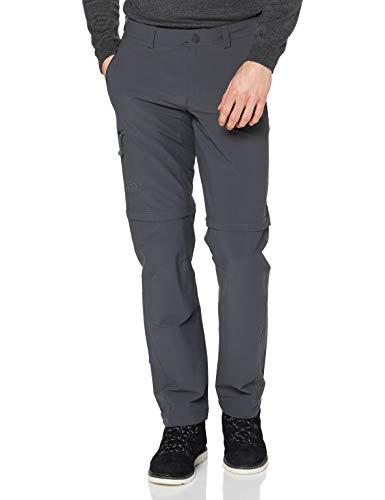Schöffel Herren Pants Koper Zip Off Hose Zipp, charcoal, 30