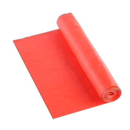 HATCHMATIC Gimnasia atlética Fuerza Aptitud Entrenamiento de la Resistencia elástica de Goma Bandas Entrenamiento Yoga Loops ORT: Rojo