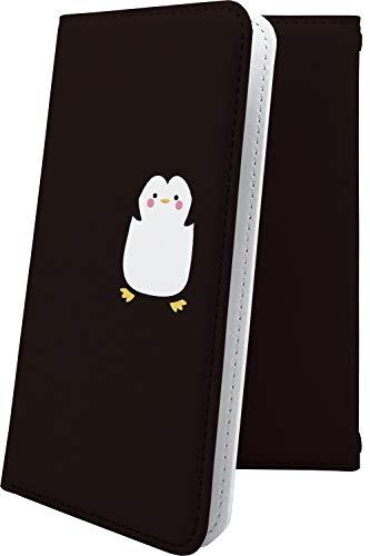 スマートフォンケース・ALCATEL ONETOUCH IDOL 3・互換 ケース 手帳型 動物 動物柄 アニマル どうぶつ ペンギン アルカテル ワンタッチ アイドル ロゴ ワンポイント ロゴ入り onetouchidol3 キャラクター キャラ キャラケース [3ph13624TUS]