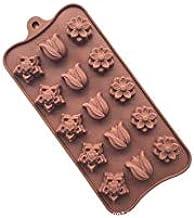 DIY Baking Tool Chocolate Mold Tulip Shape Design Baking Mould Silicone Material Ice Cube Cake Baking Mold Handmade Soap C...