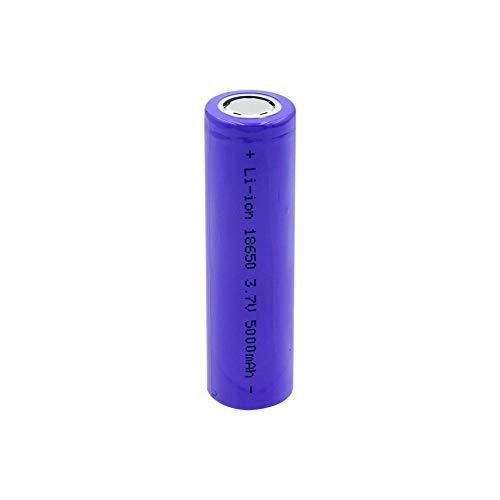 N/D 5000mah 18650 Wiederaufladbarer Akku 3.7 v Li Ionen Bateria Lithium Ionen Akku für Led Taschenlampen Power Bank Toys 1Piece