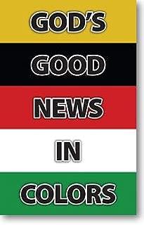 God's Good News In Colors (Gospel Tract, Packet of 100, NKJV)