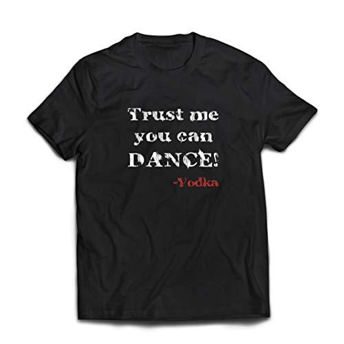 lepni.me Camisetas Hombre Confía en mí Que Puedes Regalo de Baile para los Amantes del Vodka (X-Large Negro Multicolor)
