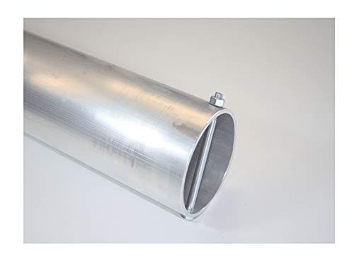Bodenhülse für Fahnenmasten / Stangen / Masten 75 mm Durchmesser Aluminium