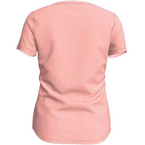Nike Mädchen G NSW Tee Scoop Dance Swoosh T-Shirt, Bleached Coral/Htr, S