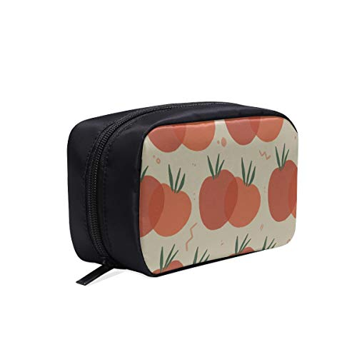 Toileteries Travel Bag Fashion Rustic Style Retro Tomatoes Womens Toiletry Bags Cosmetic Bag Medium Womans Tool Bag Cosmetic Bags Multifunction Case Travel Makeup Bag For Men