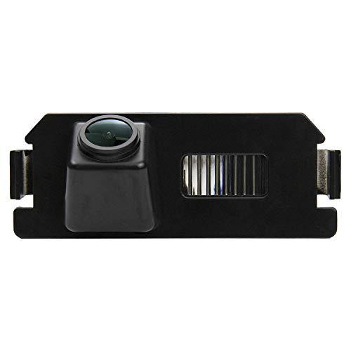 HD Caméra de Recul Voiture en Couleur Kit Caméra vue arrière de voiture Imperméable IP68 Vision Nocturne pour Hyundai I30 Rohens Solaris Genesis Coupe Solaris (Verna) KIA Soul Picanto NIRO
