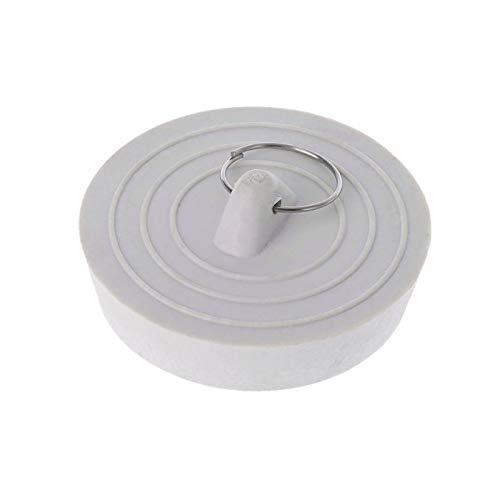 Tapón de drenaje de fregadero de goma con anillo colgante para bañera cocina baño filtro de ducha para cartucho de reemplazo de agua dura
