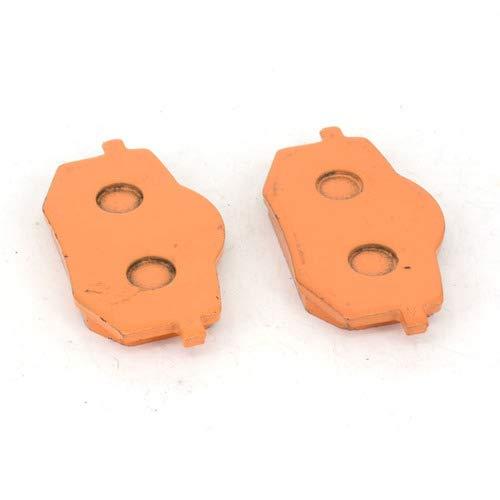 An Xin 1 paire de plaquettes de frein avant 80 x 40 x 9,8 mm pour Yamaha XV 535 Virago 88–94