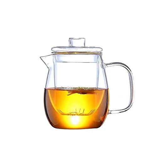 XIN NA RUI Szklany Dzbanek Szklana herbata Wisząca herbata garnek chiński kung fu herbata zestaw puer czajnik kawa ekspres do kawy wygodne biuro czajnik 500ml