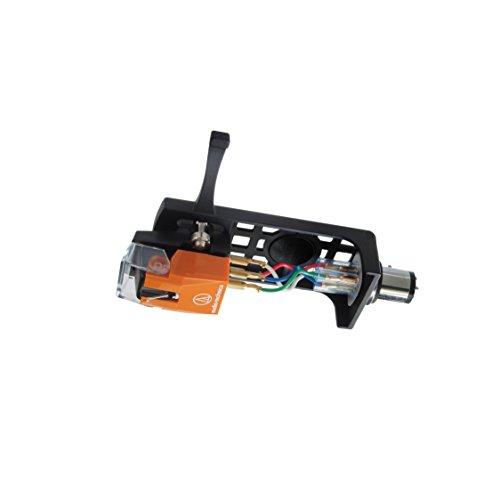 Audio-Technica AT120Eb / HSB Headshell- / Cartridge-Combo-Kit (AT120Eb Cartridge und AT-HS10BK Headshell)