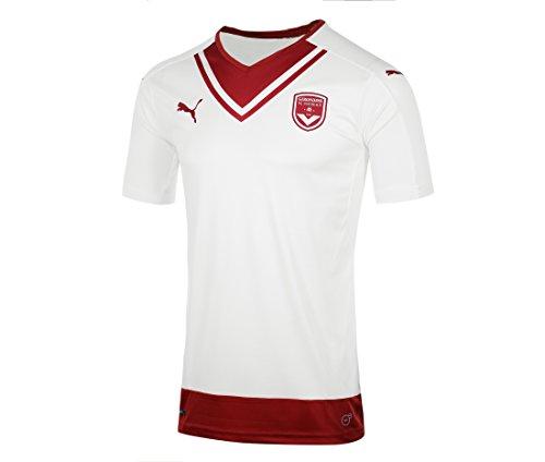 PUMA FCGB Feria - Camiseta para niño, Niños, Color Blanco, Blanco, tamaño EU: 134