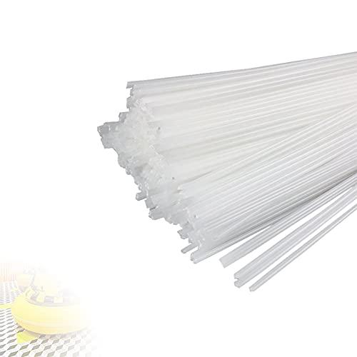 HRTX 11 lb Bacchette per Saldatura PP, Bacchette per Saldatura in Plastica per Riparazioni di Saldatura per Serbatoio dell'Acqua in Plastica PP, Tubo in PP,5x2.5 mm