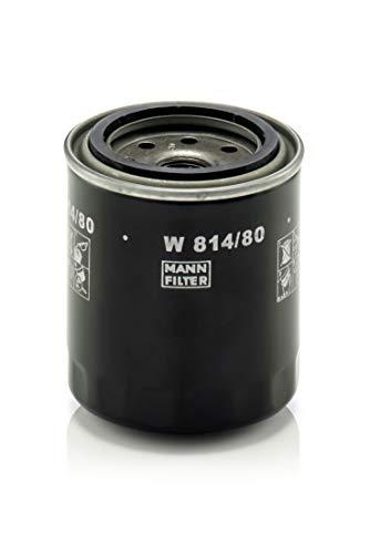 Original MANN-FILTER Ölfilter W 814/80 – Für PKW und Nutzfahrzeuge