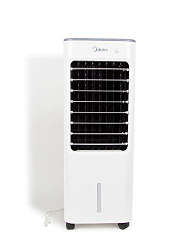 Midea AC100-18B Air Cooler Serie 3000 Kühlt und befeuchtet, 3 Geschwindigkeiten, Timer, Kunststoff