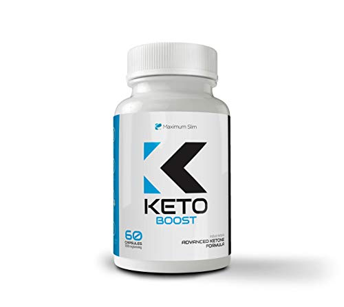 Maximum Slim Keto Complex - Weight Loss Fat Burner Supplement for Men and Women - Carb Blocker & Appetite Suppressant Formulated to Compliment a Ketogenic Diet - 60 Ct