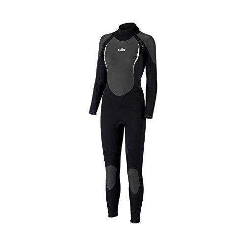 Gill Ladies Siren 5/3mm Steamer Wetsuit in Black 4605W Sizes- - Ladies 10