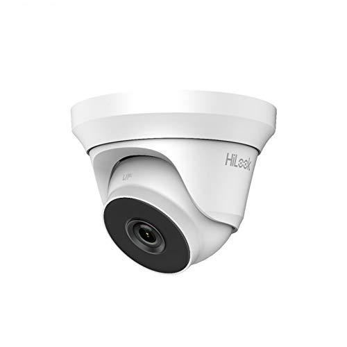 Cámara 4 MP HILOOK 4 MP HD CCTV DOME 4 en 1 40 M EXIR visión nocturna blanca - THC-T240-M-2,8 mm