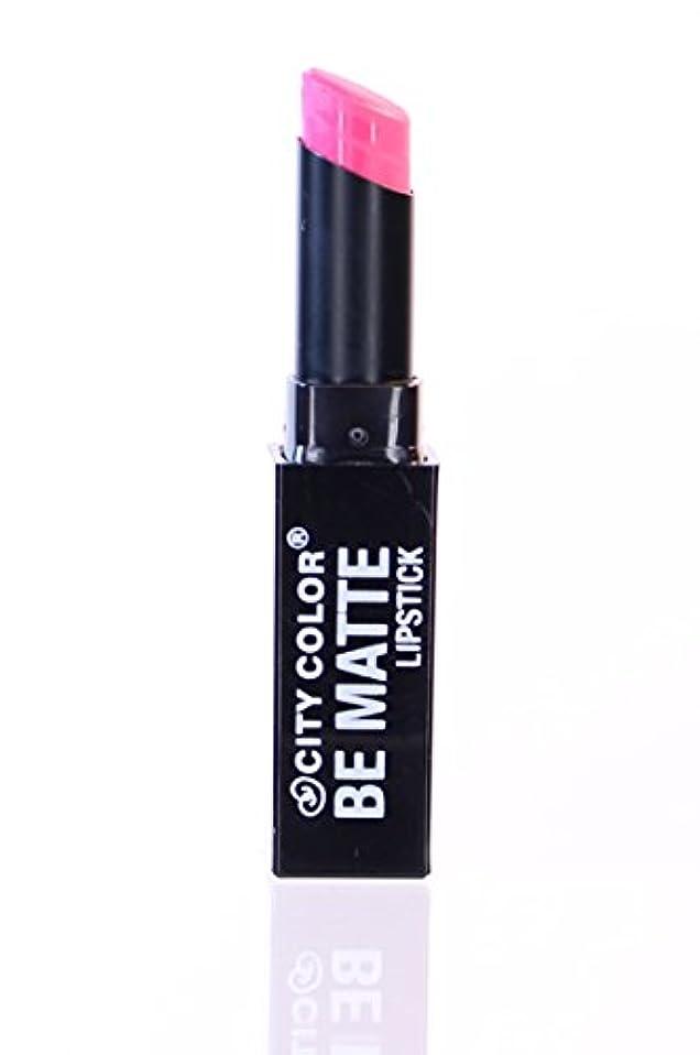 櫛チチカカ湖見出しCITY COLOR Be Matte Lipstick - Ultimate Pink (並行輸入品)