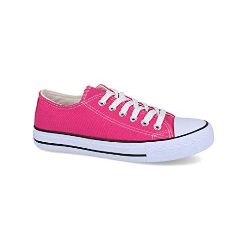L&R SHOES - Zapatillas Lona Mujer - Lona