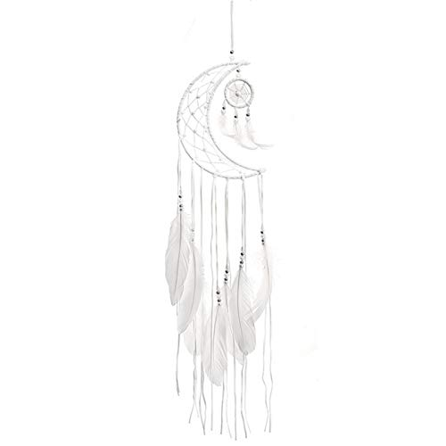 tulipes Decoración colgante Mini Dream Catchers hecho a mano Moon Wind Chimes Dream Catcher Net Ornament For Room Car innato custody