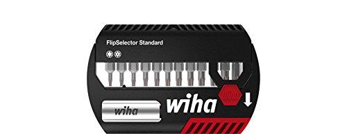 Wiha Bit Set FlipSelector Standard 25 mm TORX® Tamper Resistant (mit Bohrung) 13-tlg. 1/4