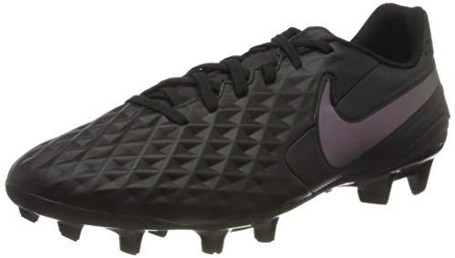 Nike Mens Legend 8 Academy FG/MG Football Trainers, Black, 44 EU