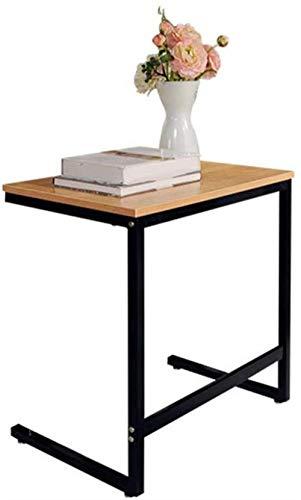 LF- Madera Maciza Mesa de sofá Tabla del almacén Simple Tabla Creativa de Escritorio del Ordenador portátil Elegante (Color : B, Size : 60 * 40 * 64cm)