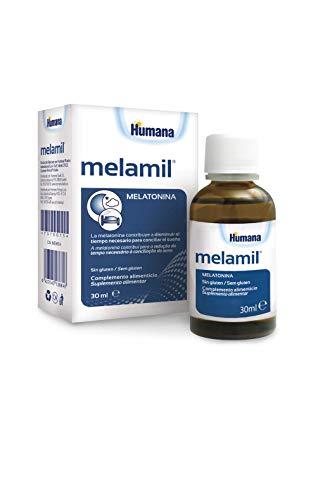 MELAMIL de Humana – Complemento Alimenticio a base de Melatonina pura al 99%, que ayuda a conciliar el sueño, 30ml.