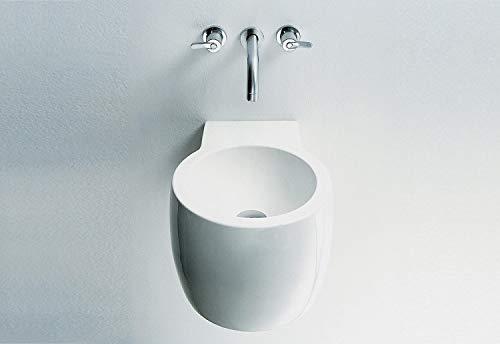 Agape ACER0740NR Waschbecken rund ohne Bohrung