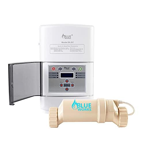BLUE WORKS Salt Water Pool Chlorine Generator System BLSC...