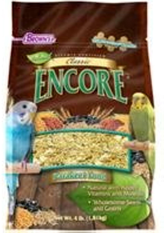 F.M. Browns  Pet 118520 Encore Classic Natural Parakeet Food  4 lbs.