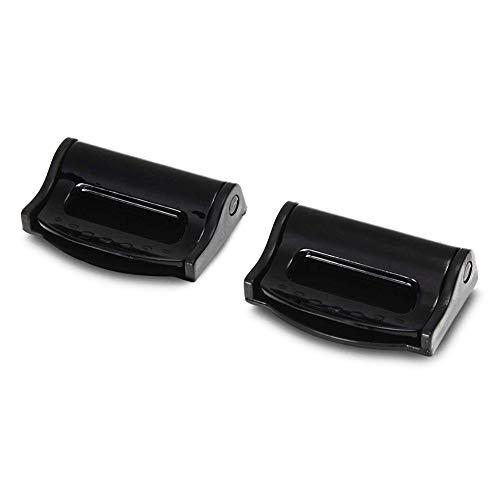 Sungpunet 2Piece Car Seat Belt Clip Belt Lock Clip Clip da Cintura Regolabile Cintura di Sicurezza Clip per Cintura Nero