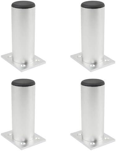 Max 78% OFF TOVOT 4 PCS Furniture Cabinet Popularity Legs Alloy Kitchen Aluminium Metal