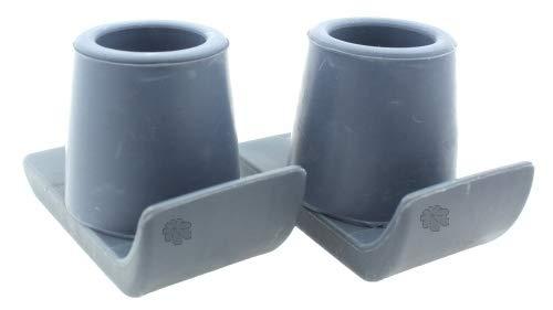Lifeswonderful® - Gleiter Mit Schutzkappe Für Gehgestelle - Doppelpack - 27mm