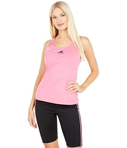 adidas Women's Standard Tennis Y-Tank Top, Rose Tone/Black, X-Small