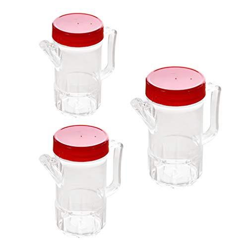 Colcolo Juego de 3 Dispensadores de Aceite Y Vinagre: Botella de Aceite Y Vinagre, Botella de Aceite,