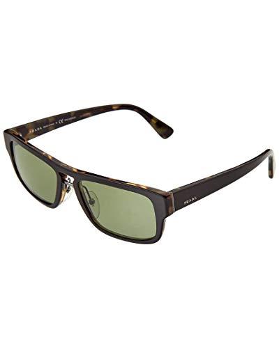 Prada Herren SPR 05V Sonnenbrille, Gold (Top Black/Medium Havana)