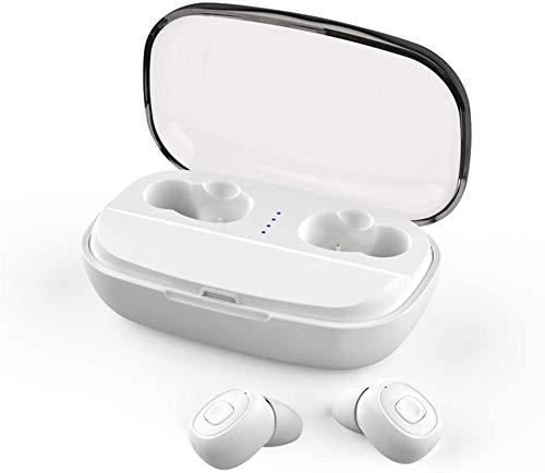 La Caja de música Altavoz de Carga Poco Bluetooth Auricular Bluetooth Auriculares, Auriculares inalámbricos estéreo,Blanco