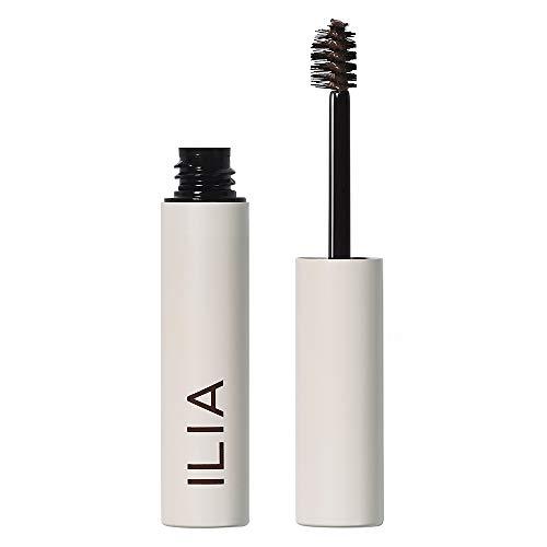 ILIA - Natural Essential Brow Gel - Dark Brown | Cruelty-Free, Vegan, Clean Beauty