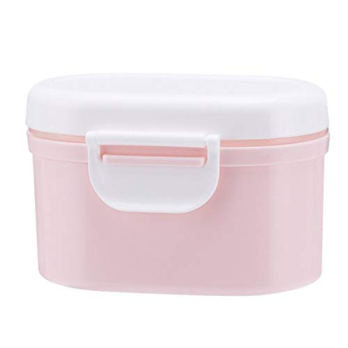 Best Buy! ZXY Baby Milk Powder Sealed Storage Box, Portable Outdoor Large-Capacity Storage Tank Stor...