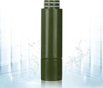 Purewell Filtre à eau remplaçable pour purificateur d'eau portable - Pompe de filtration d'eau d'urgence avec filtre intégré à 4 niveaux pour camping, randonnée, sac à dos.