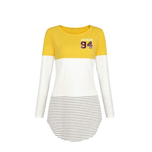 Diseño simple, clásico y atemporal, cómodo y con estilo. La camiseta de manga larga más vendida de la moda Camiseta básica de manga larga de los modelos