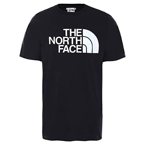 The North Face - T-Shirt Half Dome Uomo - Maniche Corte - Cotone Sostenibile - Nero, M