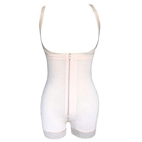 GOWINEU Abnehmen der Unterwäsche-Bodysuit-Frauen-Wäsche, die das Kolben-Heber-Damen-Shapewear-Körper-Formen abnimmt
