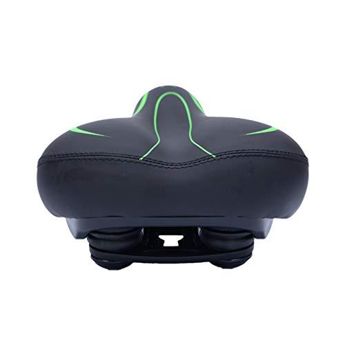 SM SunniMix Seat Shockproof Soft Extra Comfort Large Saddle Pad - Green, 27x19.5cm